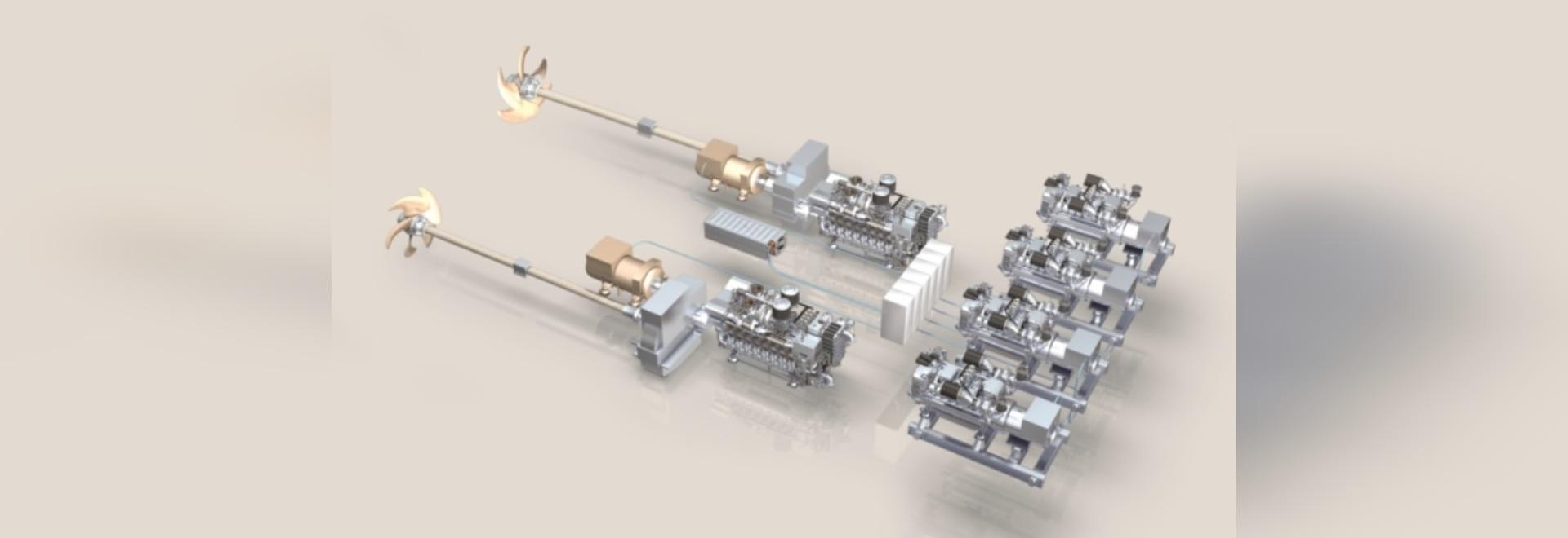 MTU hybrid propulsion - Germany