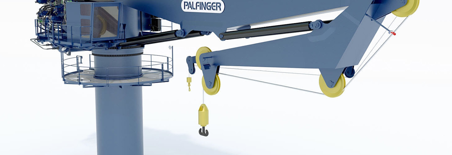 PALFINGER MARINE enters the market for Active Heave Compensated Subsea Cranes