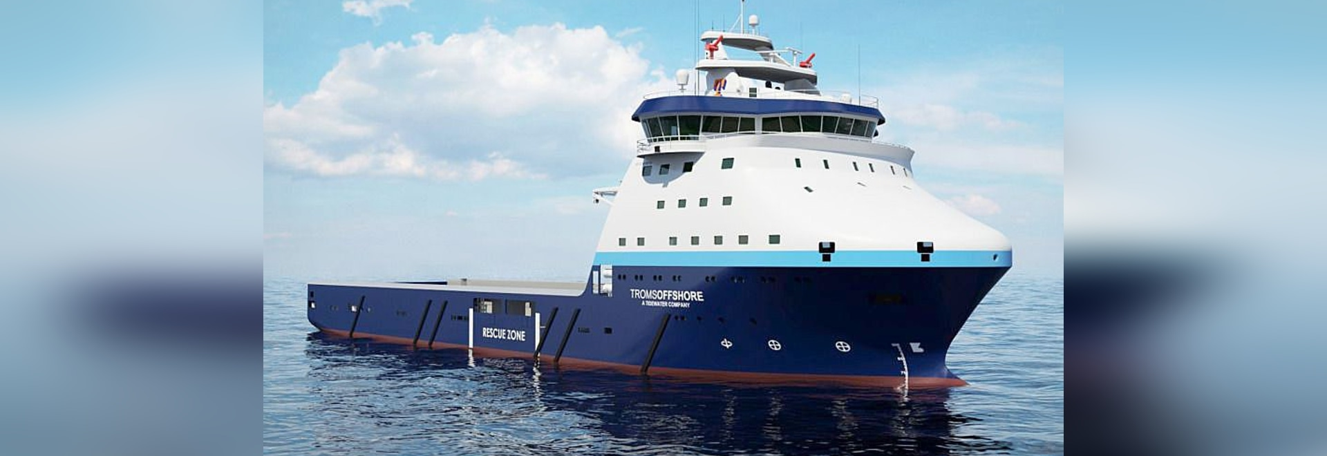 PALFINGER NED-DECK and PALFINGER BOATS sold combined package with davit and fast rescue boat to Tersan Shipyard