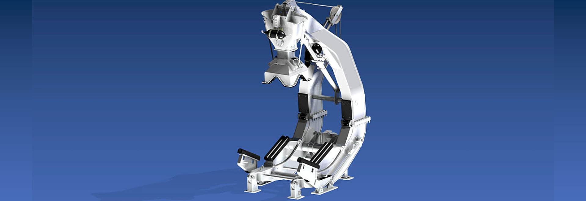 PALFINGER NED-DECK won an order for 12 newly designed davits for the Royal Malaysian Navy