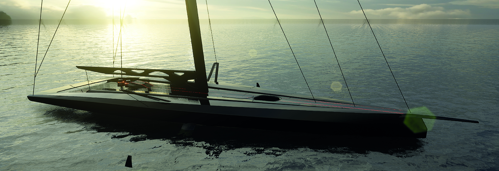 Persico Marine and Carkeek Design Partners introduce F 70 full-foiling day sailer-racer