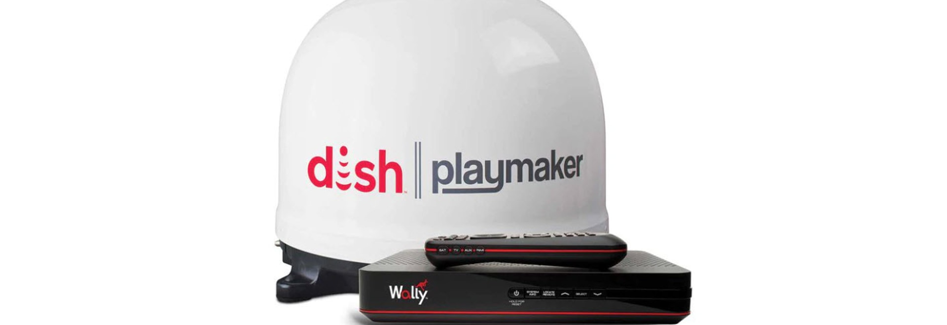 The Playmaker antenna and Wally receiver combine to offer sports, movies and other programming in high definition.