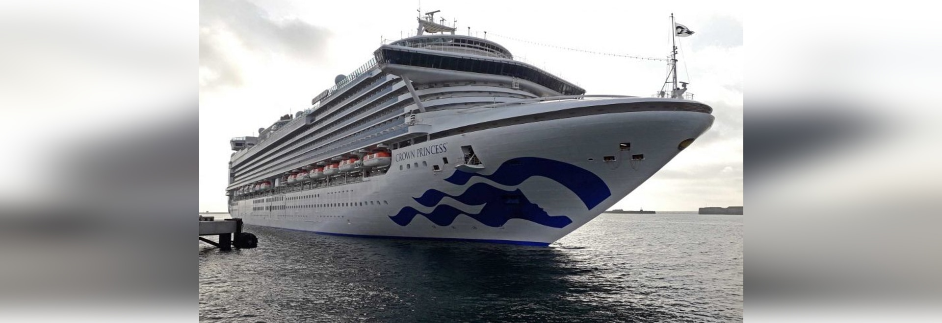 PORTLAND PORT WELCOMES CROWN PRINCESS