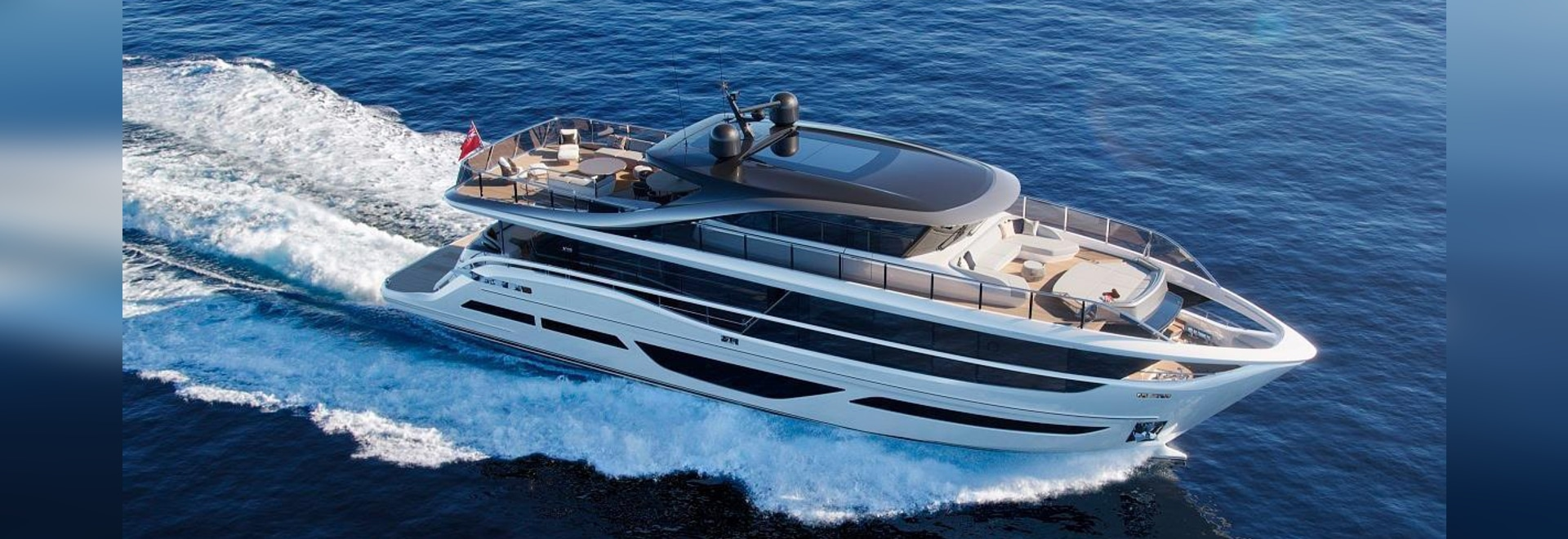 Princess Yachts' X95 is to be fitted with the Bennet Marine trim tab system
