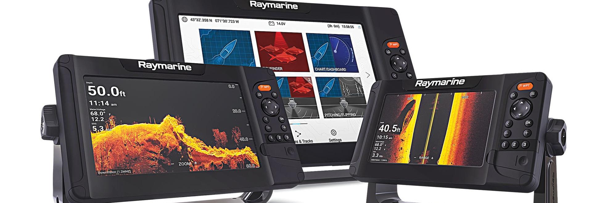 Raymarine Element Sonar-GPS with HyperVision