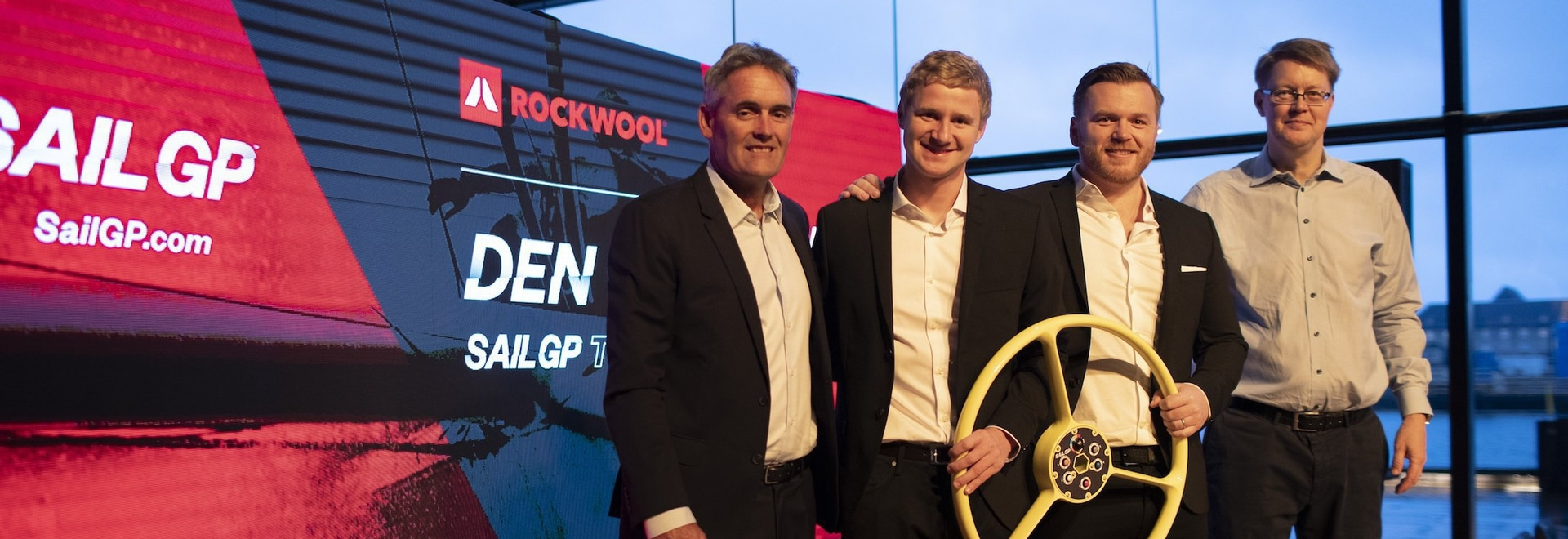 SailGP announces Denmark SailGP Team presented by ROCKWOOL to join world-class lineup for Season 2