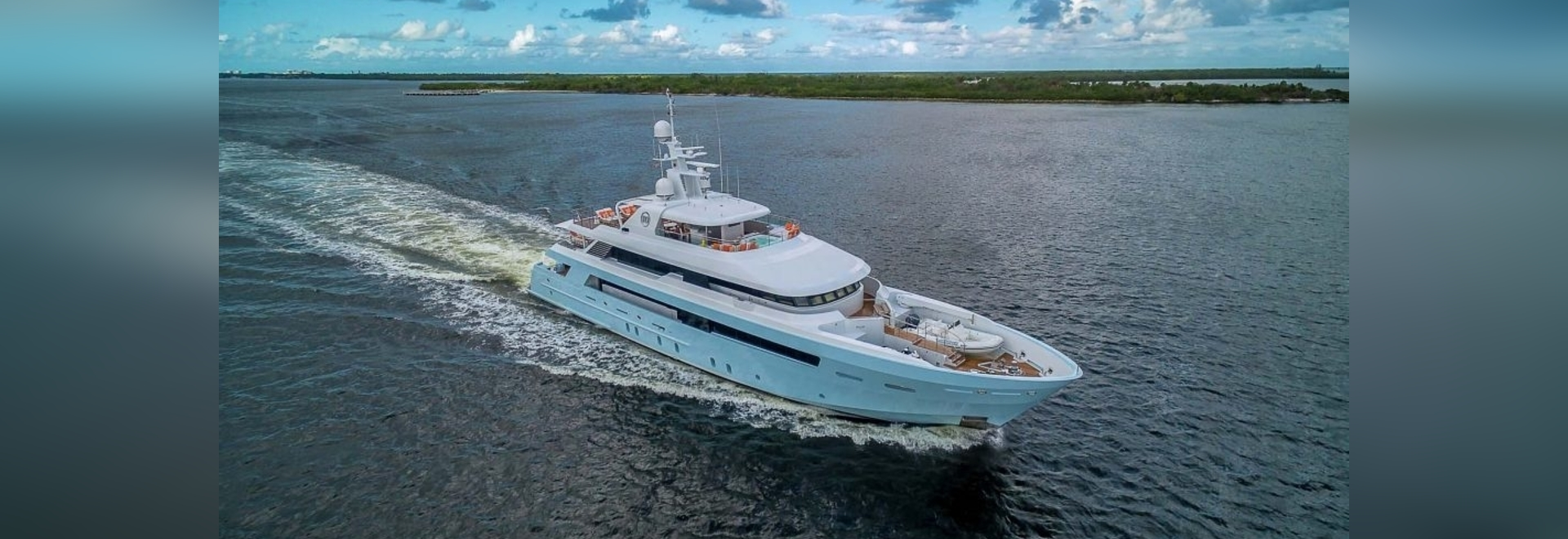 For sale in Florida: 46m Delta Marine motor yacht Time For Us