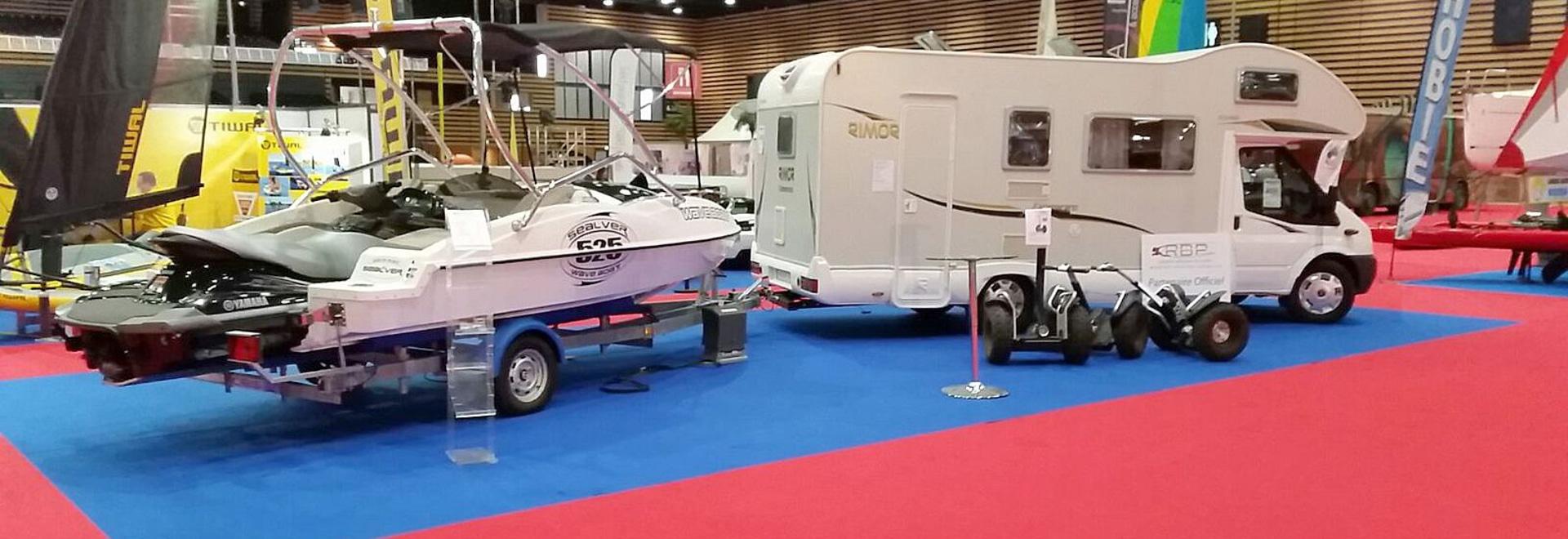 SEALVER at Loisirs d''eau Boat Show in Lyon (FR)