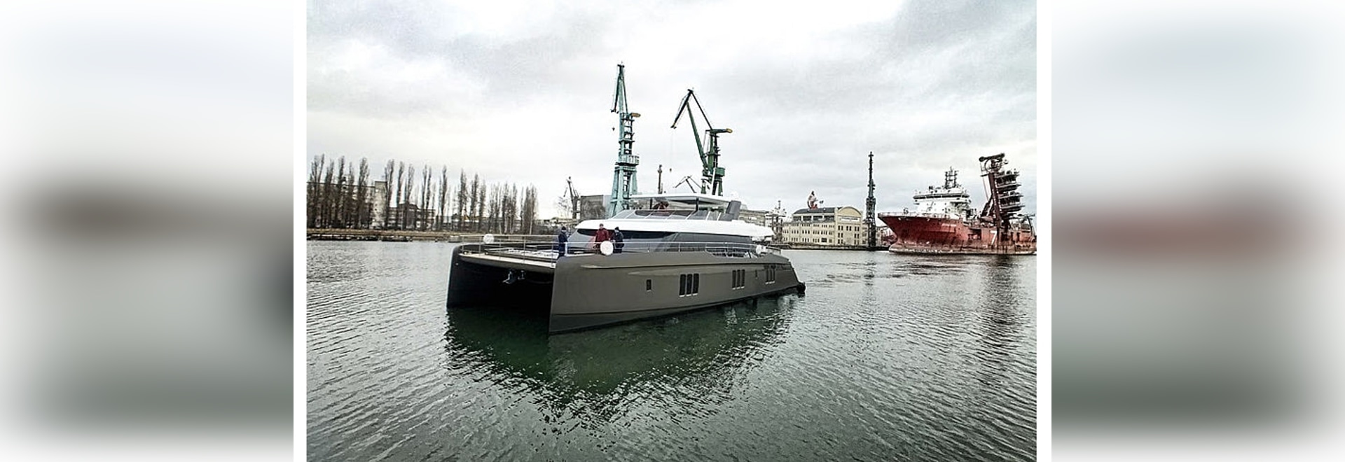 Second Sunreef 80 Power motor yacht Otoctone 80 launched