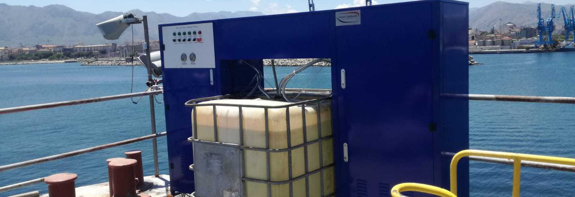 Shipyard's water treatment Plant