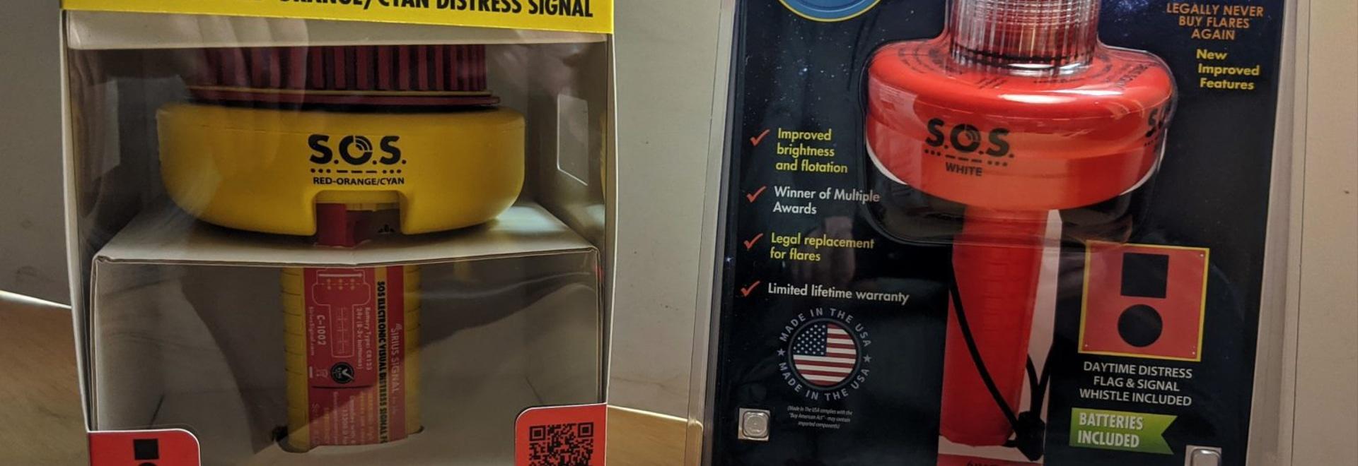 Sirius Signal C-1002 & C-1003 SOS distress signal testing begins, future bright