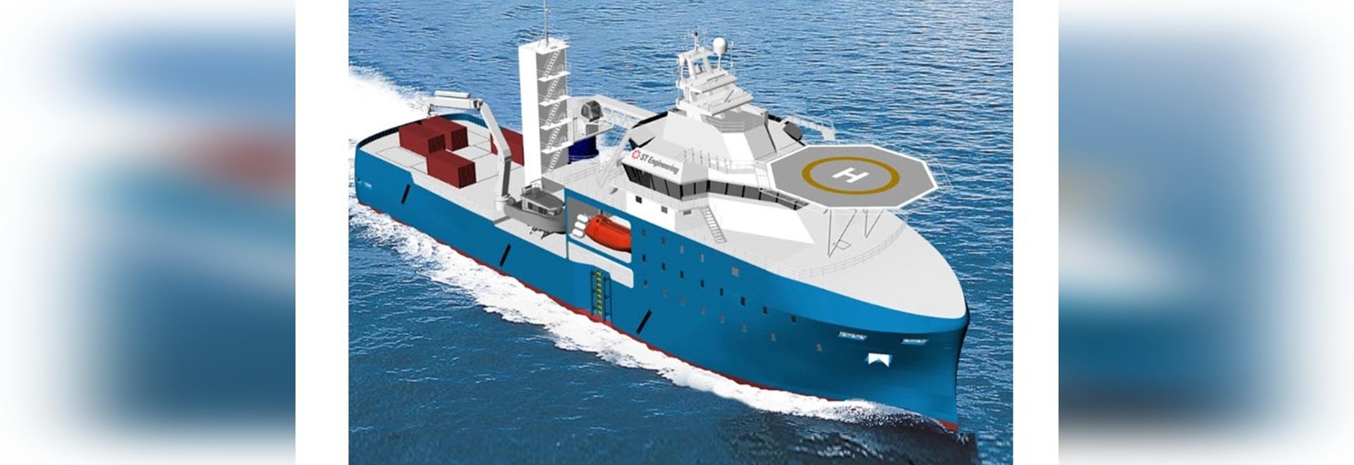 SOV is based on ST Engineering's innovative Eco-hull design