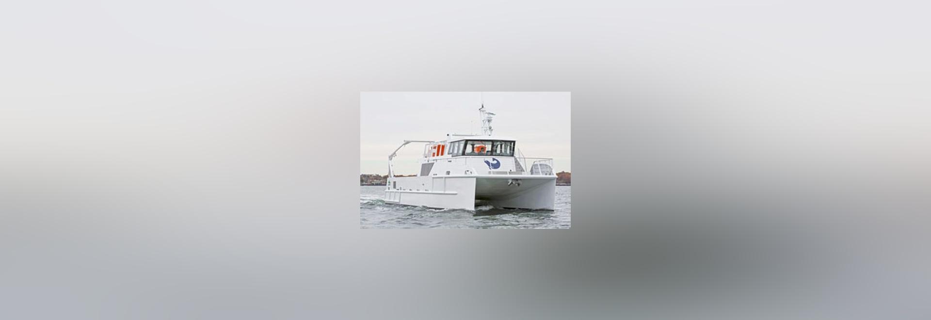 Spirit of the Sound. Derecktor Shipyards photo.