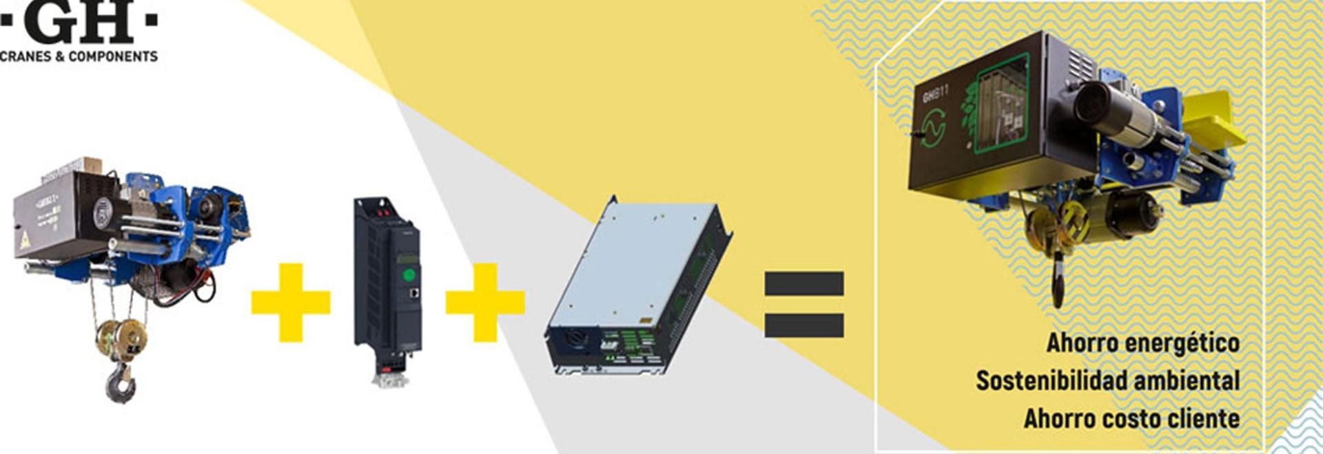Standard gh hoist regenerative inverter
