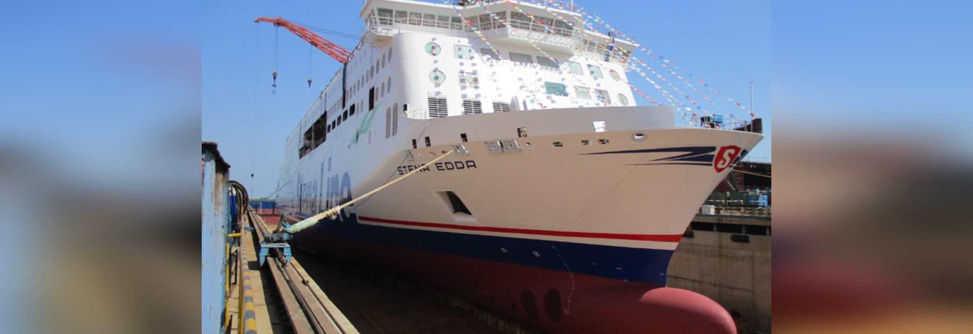 Stena's Second E-Flexer Ferry Launched in China