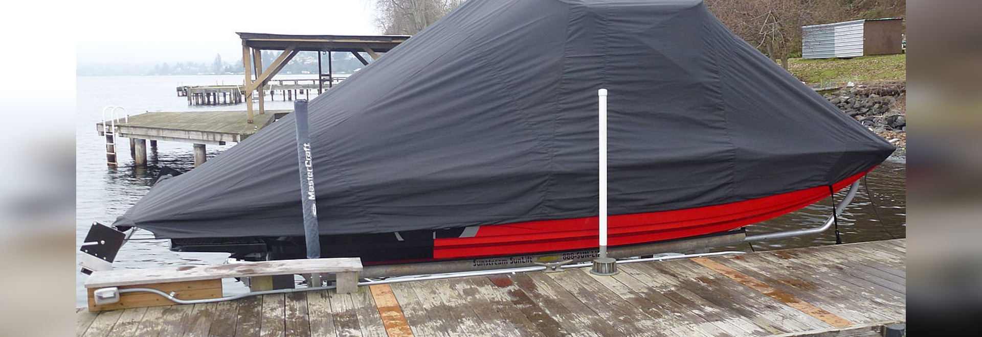SUNSTREAM® INTRODUCES SWIFTSHIELD™ AUTOMATIC BOAT COVER
