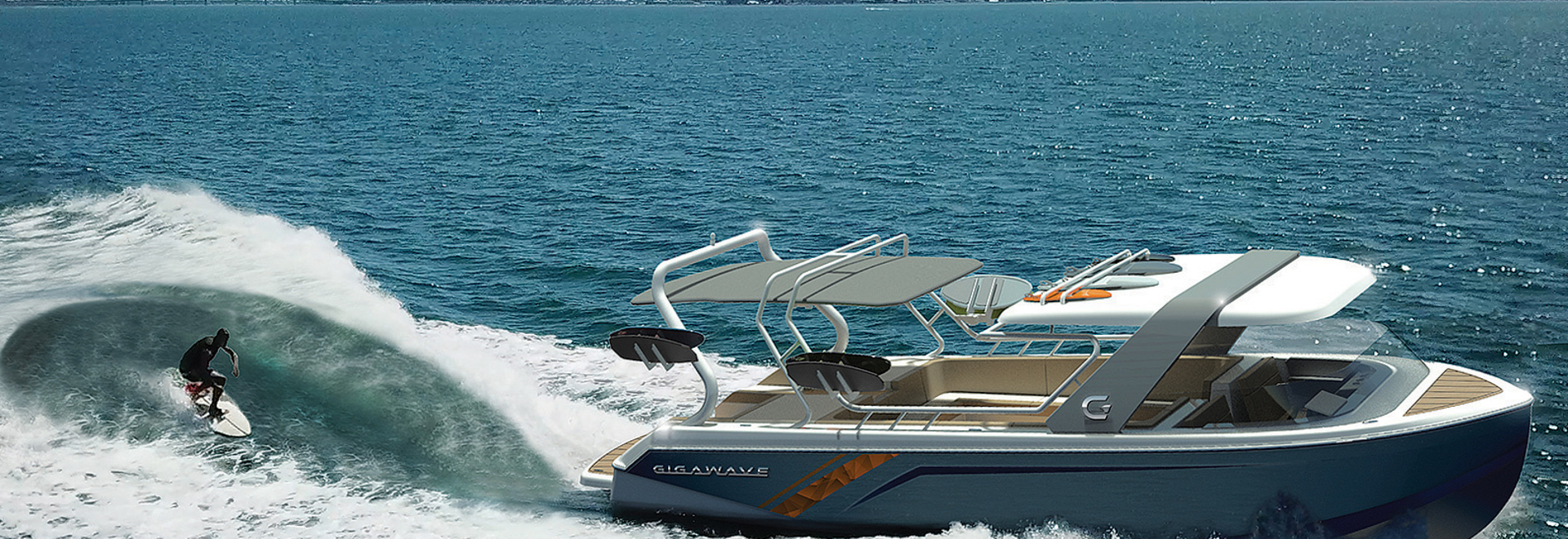 Surf's up with Gigawave's new concept boat