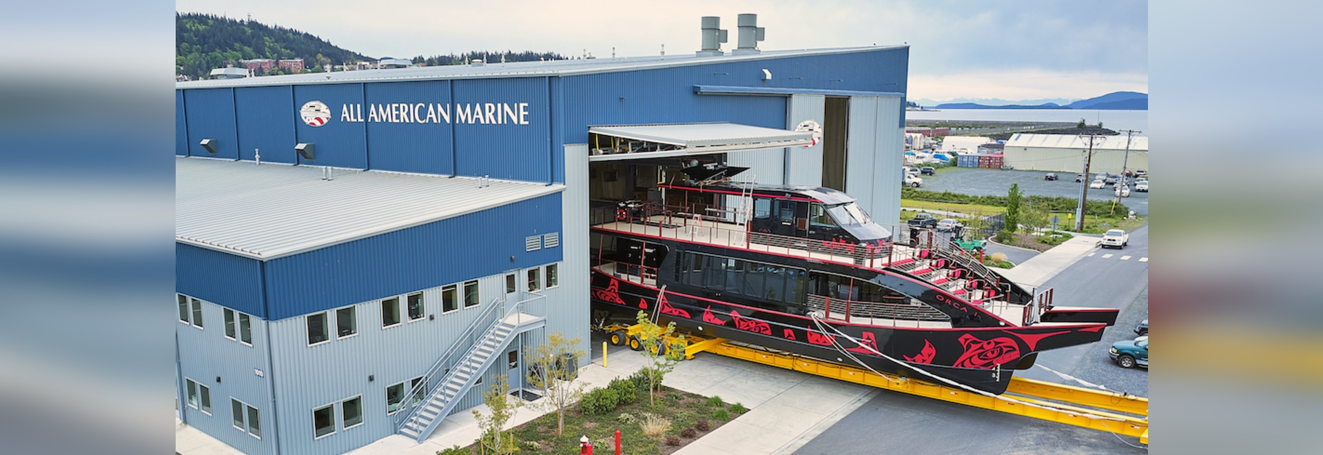 These 149 passenger catamarans are powered by twin Caterpillar C18 engines producing at 803 hp at 2,100 rpm each.