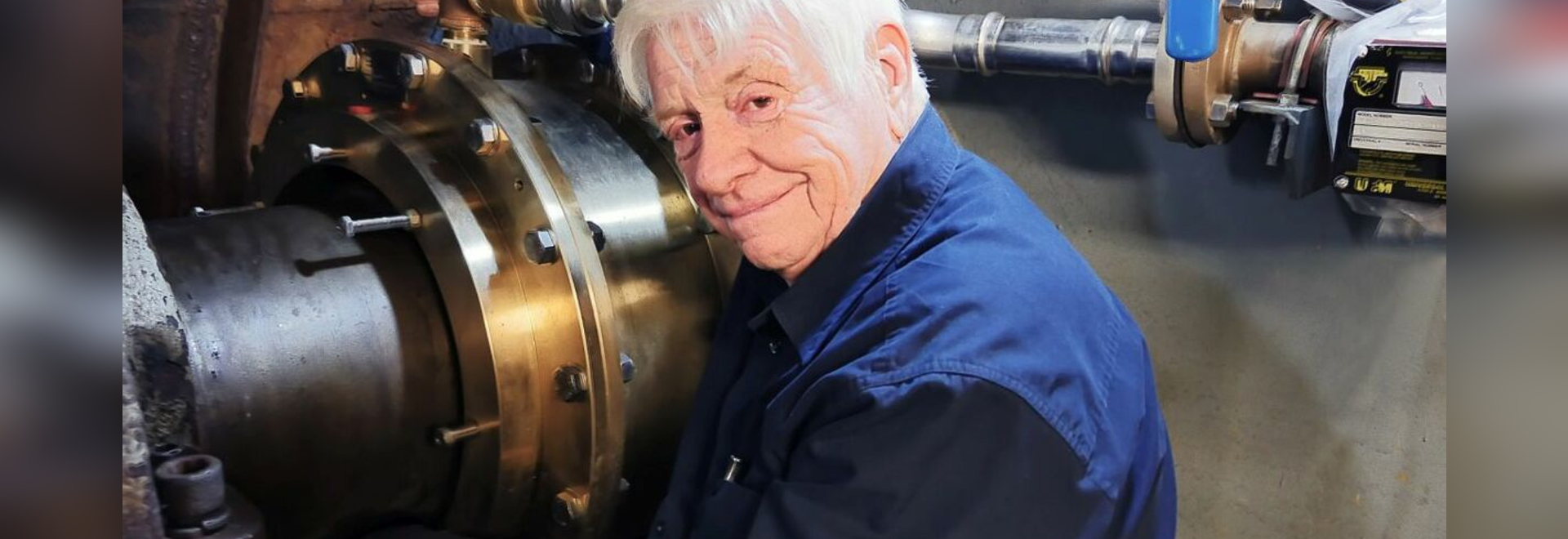 Thordon Bearings' founder and polymer materials pioneer George A (Sandy) Thomson
