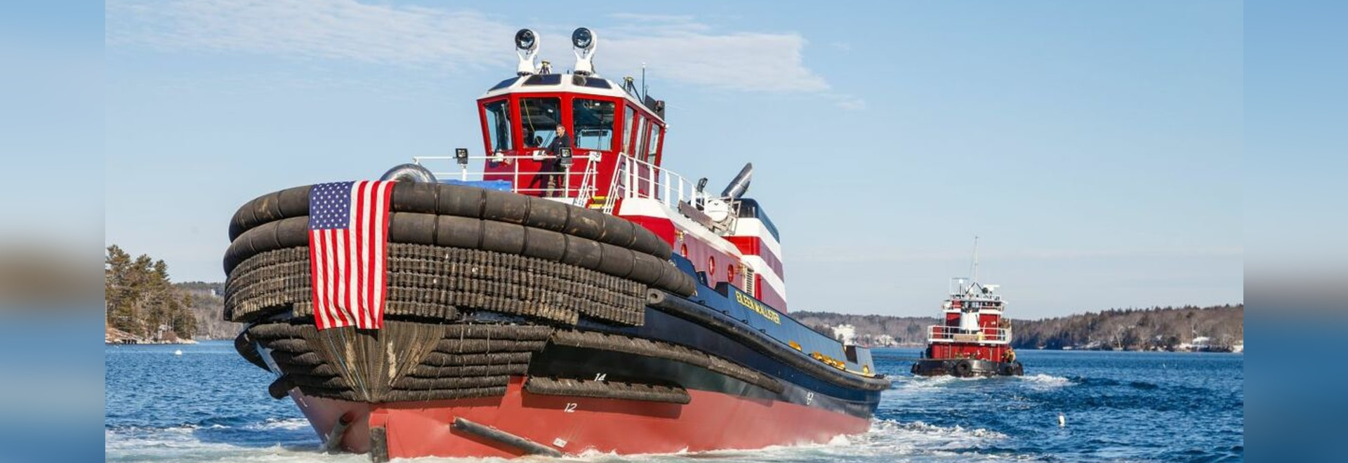 The tug will supply McAllister's customers with the power they need to make their port connections in a safe and efficient fashion.
