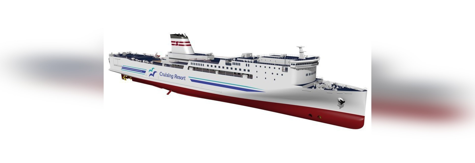 The unmanned navigation technology will be installed in this high speed car ferry on order at Nagasaki Shipyard