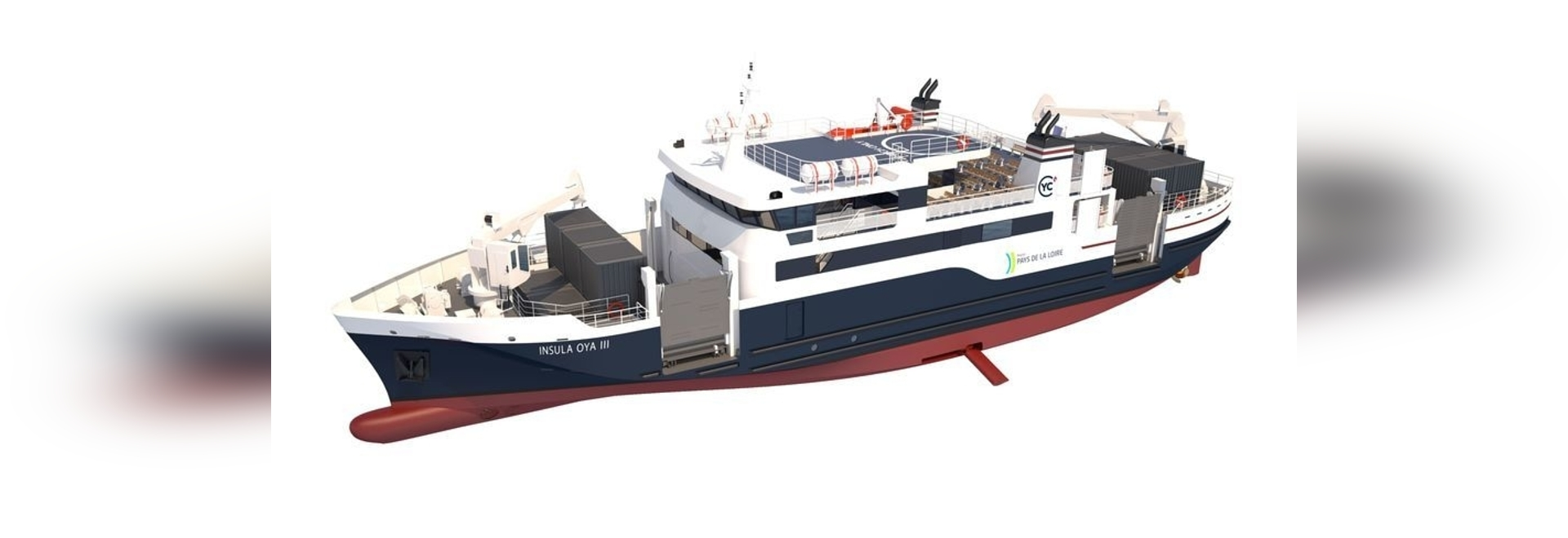 Vessel offers 40% increase in cargo capacity compared with predecessor