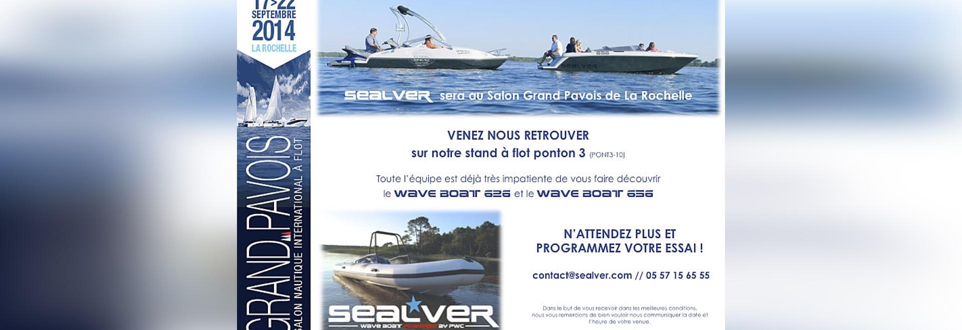 "The Wave Boat in ""Le Grand Pavois"" in La Rochelle"