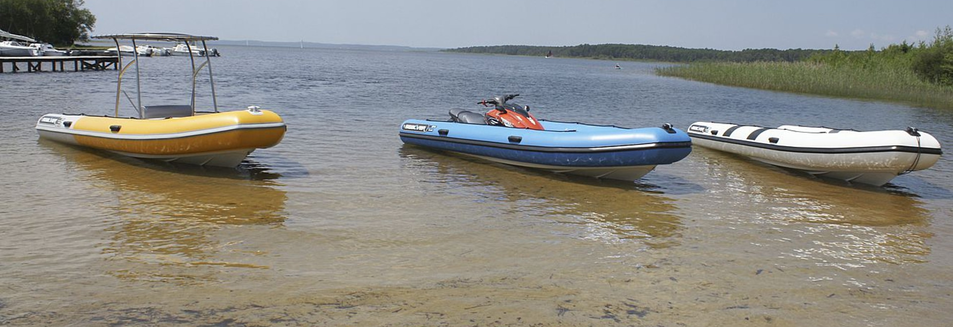 Wave Boat powered by PWC