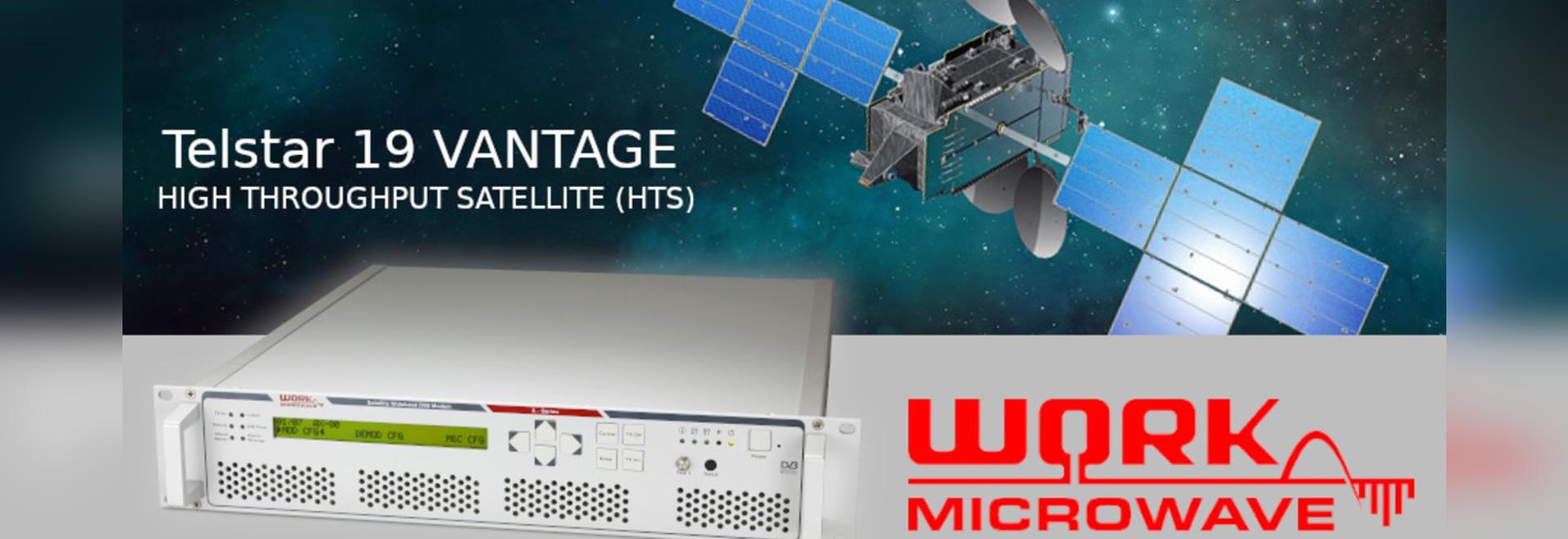 WORK Microwave Transforms Maritime SatCom