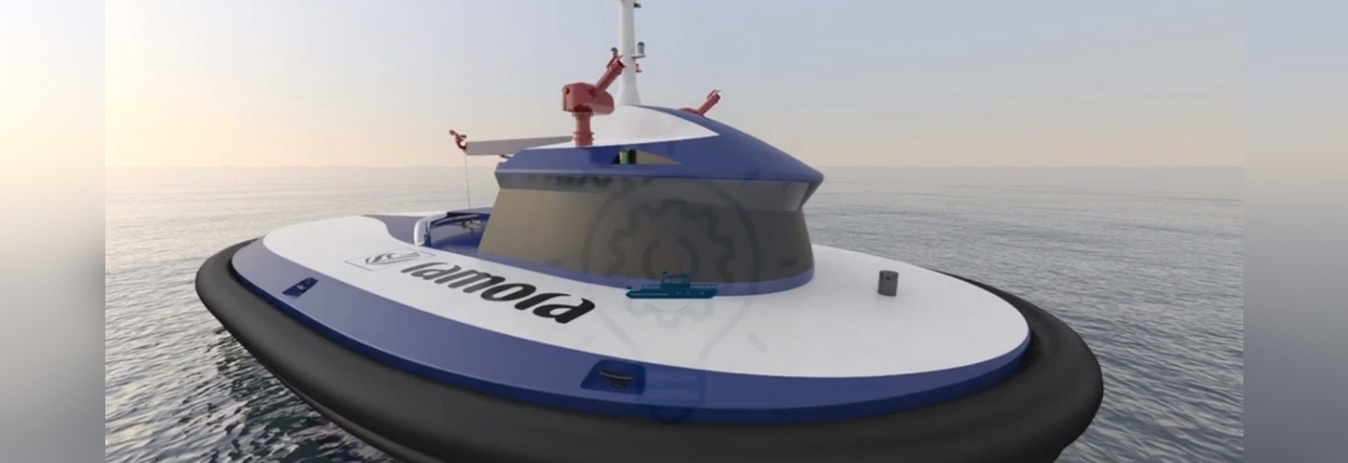 World's first unmanned autonomous commercial tugboats