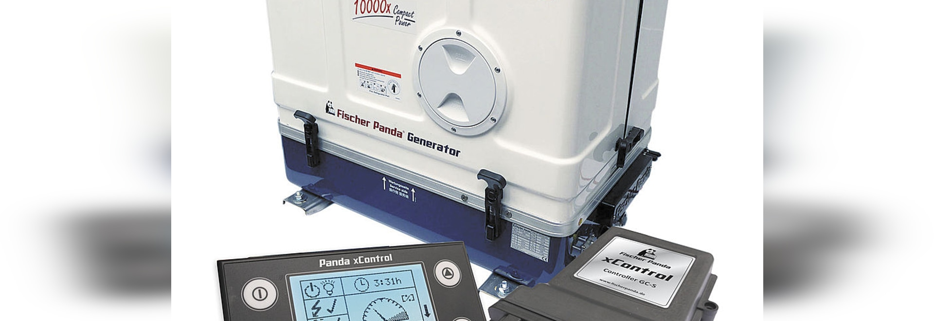 xControl - The new generator control of Fischer Panda
