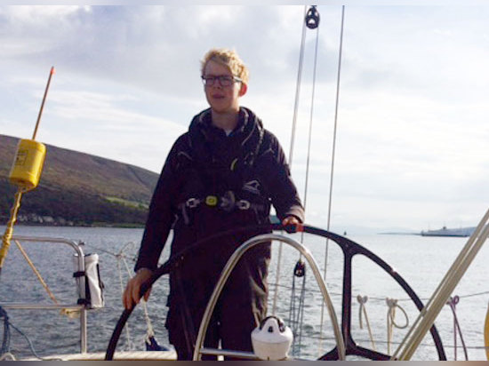 Cumbrian sailor becomes professional yacht master at just 18