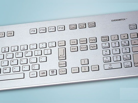 NEW: piezoelectric computer keyboard by Baran Advanced Technologies