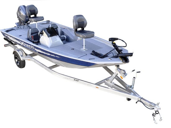 NEW: outboard bass boat by Xpress