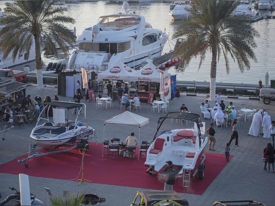SEALVER Wave Boat at the Dubai International Boat Show