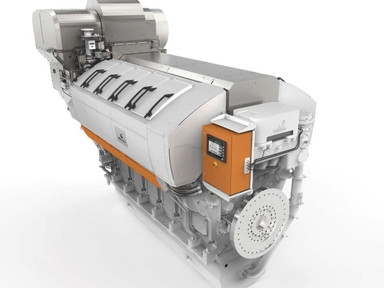 NEW: ship engine by Wärtsilä Corporation