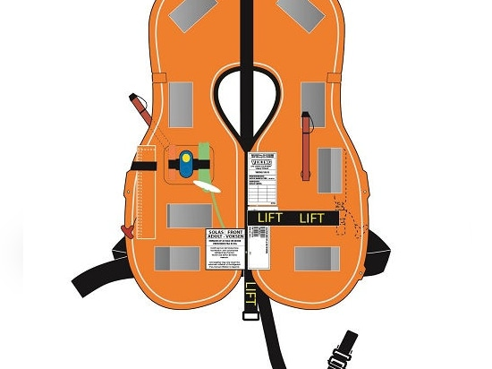 NEW: inflatable lifejacket by VIKING