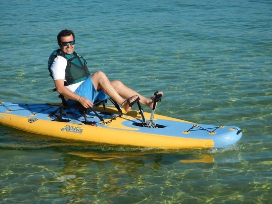 NEW: pedal sit-on-top kayak by Hobie Cat USA