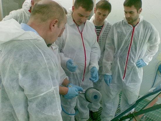 Sea-Line paints lab trainings