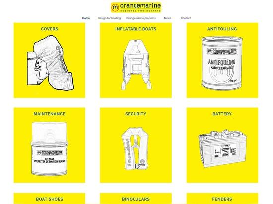 Our new export Web site Orangemarine