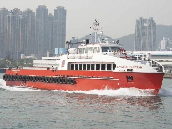 NEW: crew transfer offshore support vessel by Cheoy Lee