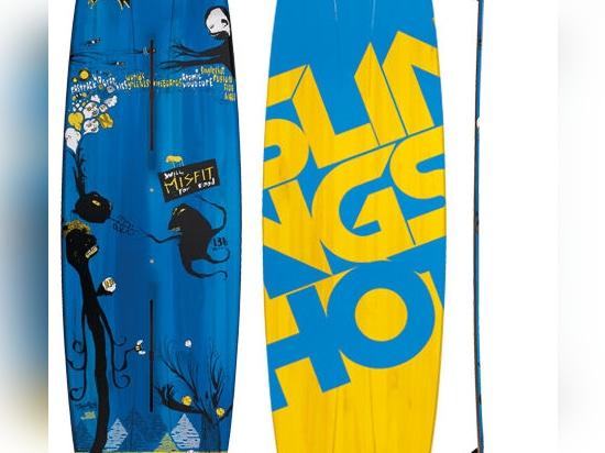 NEW: twin-tip kitesurf board by SlingShot