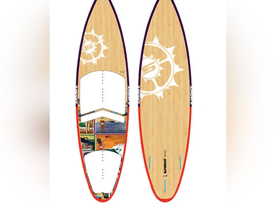 NEW: kitesurf board by SlingShot