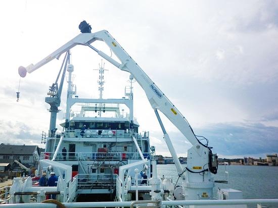 PALFINGER MARINE DELIVERS A PKM 1150 TO ULJANIK SHIPYARD AND A PK 15500 M TO CROMARIS