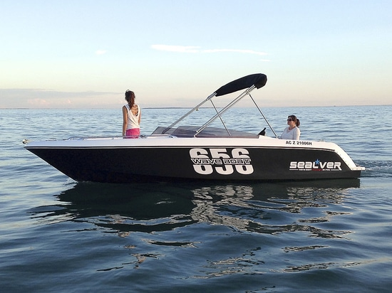 Discover the new version of the Wave Boat 656