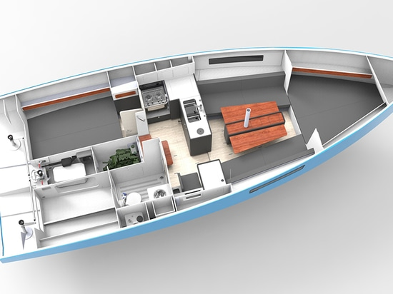 1st 3D rendering of the interior of the new RM970