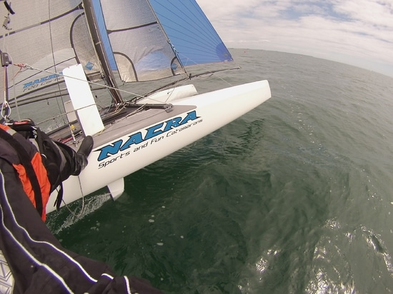 Connecting Marseilles to Sidi Bou Said (Tunisia) coastlines can only be done on board an exceptional boat. The high-tech Nacra F20 Carbon is a the boat sailors dream about, and now the one that wil...