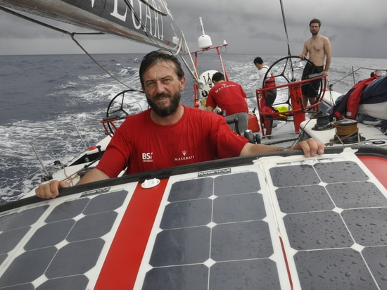 A new adventure awaits Giovanni Soldini and Solbian is up for the challenge
