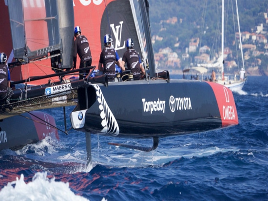 Fast and Foiling: Emirates Team New Zealand Chases sthe America's Cup