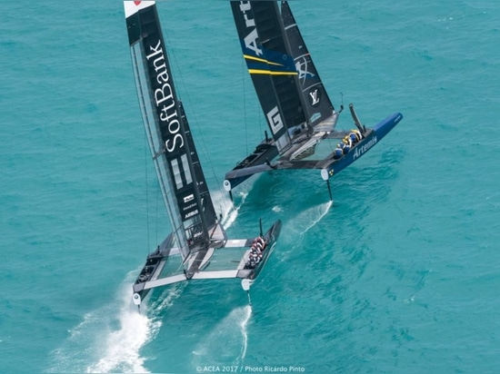 AMERICA'S CUP: PRESSURE MOUNTS FOR ARTEMIS AND SOFTBANK